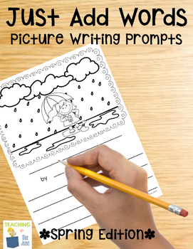 Picture Writing Prompts for Spring {Great Writing Center Activity}
