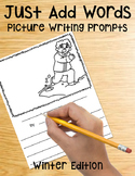 Picture Writing Prompts for Winter | Writing Center | December | January