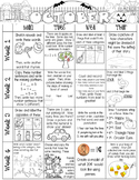 Just Add a Spiral Notebook: October Kindergarten Homework - NWEA MAP Skills