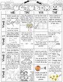 Just Add a Spiral Notebook: October Kindergarten Homework