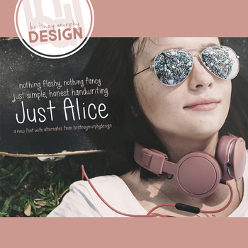 Just Alice Font for Commercial Use