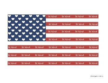 Be Kind - Flag
