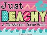 Just Beachy: A Classroom Decor Pack!