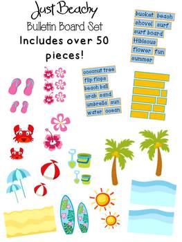 Just Beachy - Bulletin Board Set