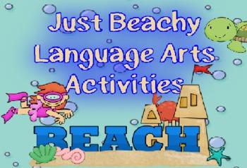 Just Beachy Language Arts Activities Pack