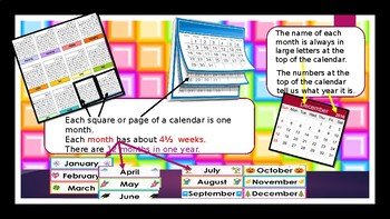 Just Calendar PowerPoint Lesson Presentation