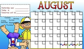Just Calendars Bundled for Smart Board