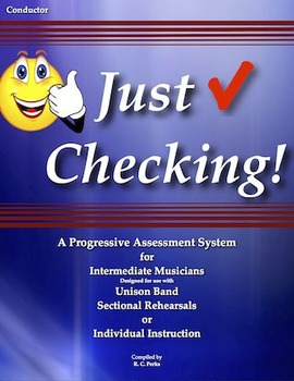"""Just Checking!"" for Band and Music Assessment"