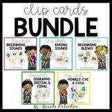 Phonics Clip Card BUNDLE