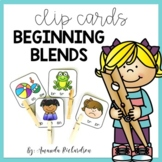Beginning Blends Activities - Clip Cards