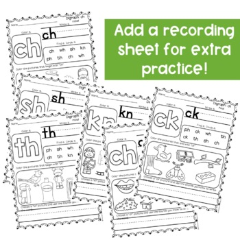 Digraph Activities-Clip Cards