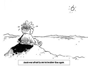 Just Color It: 3 Bible Stories (Jacob, Elijah, and Daniel)