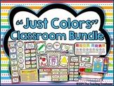 """Just Colors"" Classroom Bundle"
