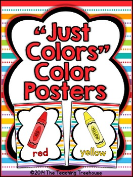 """""""Just Colors"""" Color Posters"""