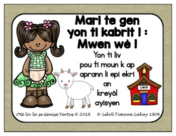 Esl Haitian Creole Worksheets & Teaching Resources | TpT