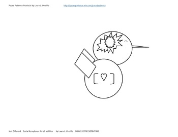 Just Different - Free Coloring Sheet