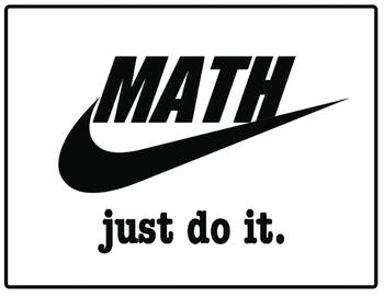 Just Do It Math