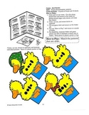 Just Duckies Pre-Colored File Folder Patterns