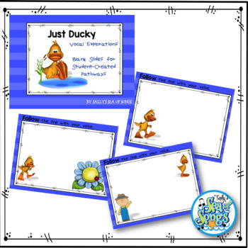 Just Ducky Animated Vocal Explorations - PowerPoint & Worksheets