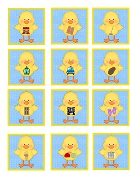 Just Ducky (Beginning Sounds Game)