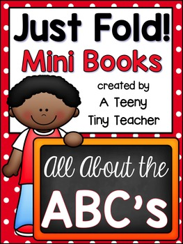 Just Fold! Mini Books {All About the ABC's}