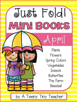 Just Fold! Mini Books {April}