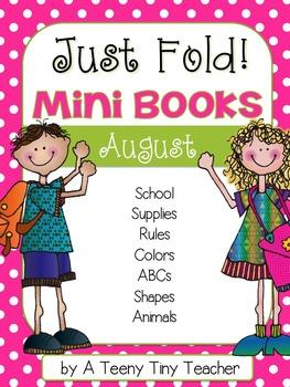 Just Fold! Mini Books {August}