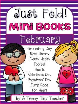 Just Fold! Mini Books {February}