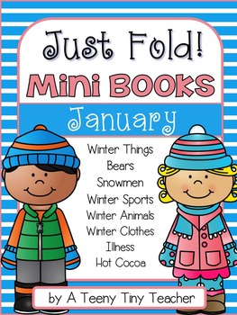 Just Fold! Mini Books {January}