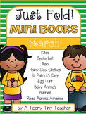 Just Fold! Mini Books {March}