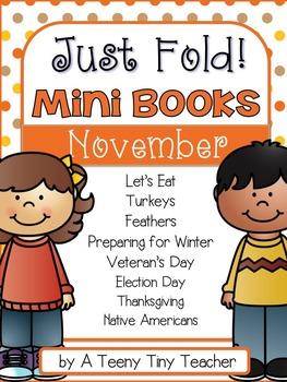 Just Fold! Mini Books {November}