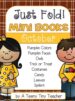Just Fold! Mini Books {October}