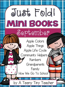 Just Fold! Mini Books {September}