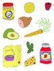 Just Food Clip Art:  40 PNGs from the Supermarket!