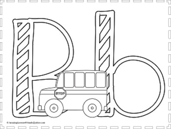 Just For Fun Alphabet Coloring Sheets