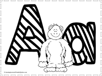 just for fun alphabet coloring sheets by amazinglessons4friends tpt Just for a Little Fun just for fun alphabet coloring sheets