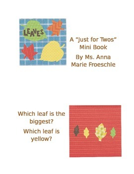 Just For Twos Leaves Mini-Book