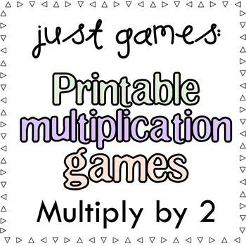 Multiplication Games x2