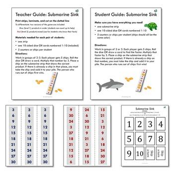Multiplication Games x3