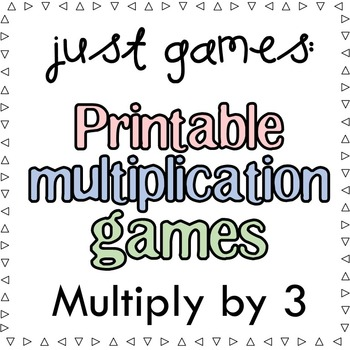 Multiplication Games x3