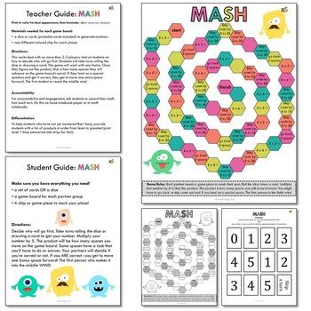 Multiplication Games x5