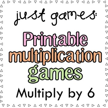Multiplication Games x6