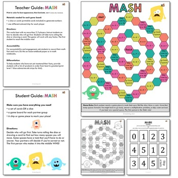 image about Factor Game Printable named Solitary Digit Multiplication Printable Math Recreation Deal (Only Video games!)