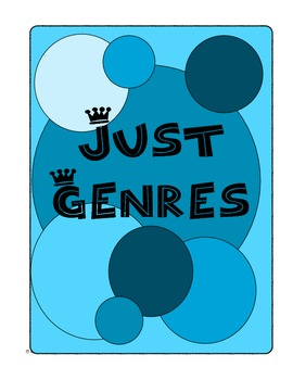 Just Genres Reading Practice Worksheets for All Tested Genres STAAR Sale!
