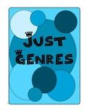 Just Genres Reading Practice Worksheets for All Tested Gen