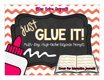 Just Glue It: Multi-Step, High-Order Response Prompts for Interactive Journals!
