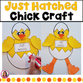 "Spring Chicken Craft! ""I Can Bust Out Of An Egg. What's Your Superpower?"""