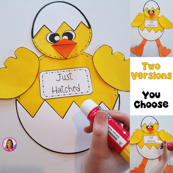 """Spring Chicken Craft! """"I Can Bust Out Of An Egg. What's Your Superpower?"""""""