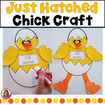 "Spring Chicken Craft! ""I Can Bust Out Of An Egg. What's Yo"