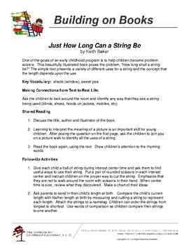 Just How Long Can a String Be by Keith Baker